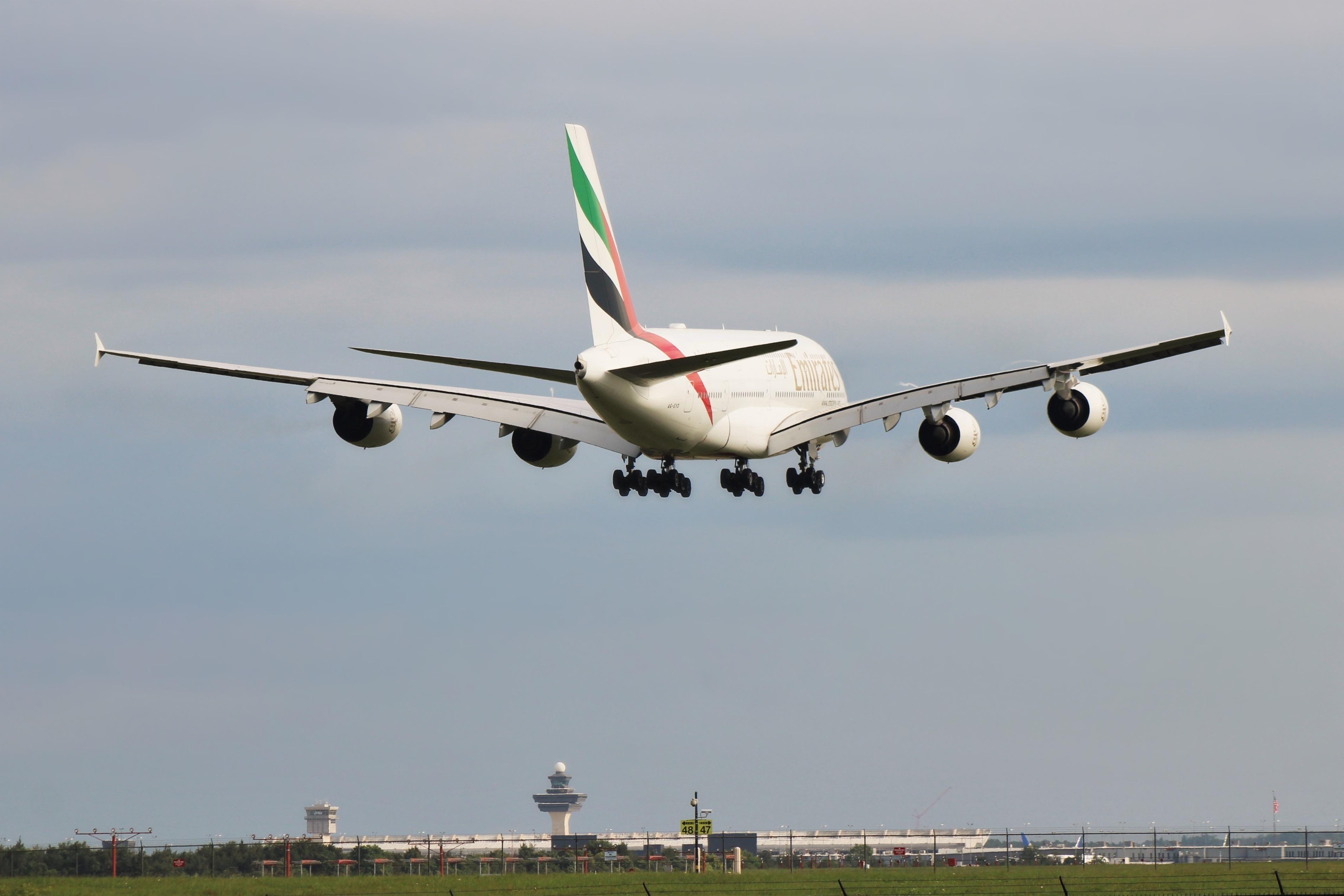 Photo of A6-EVD - Emirates Airbus A380-800 at IAD