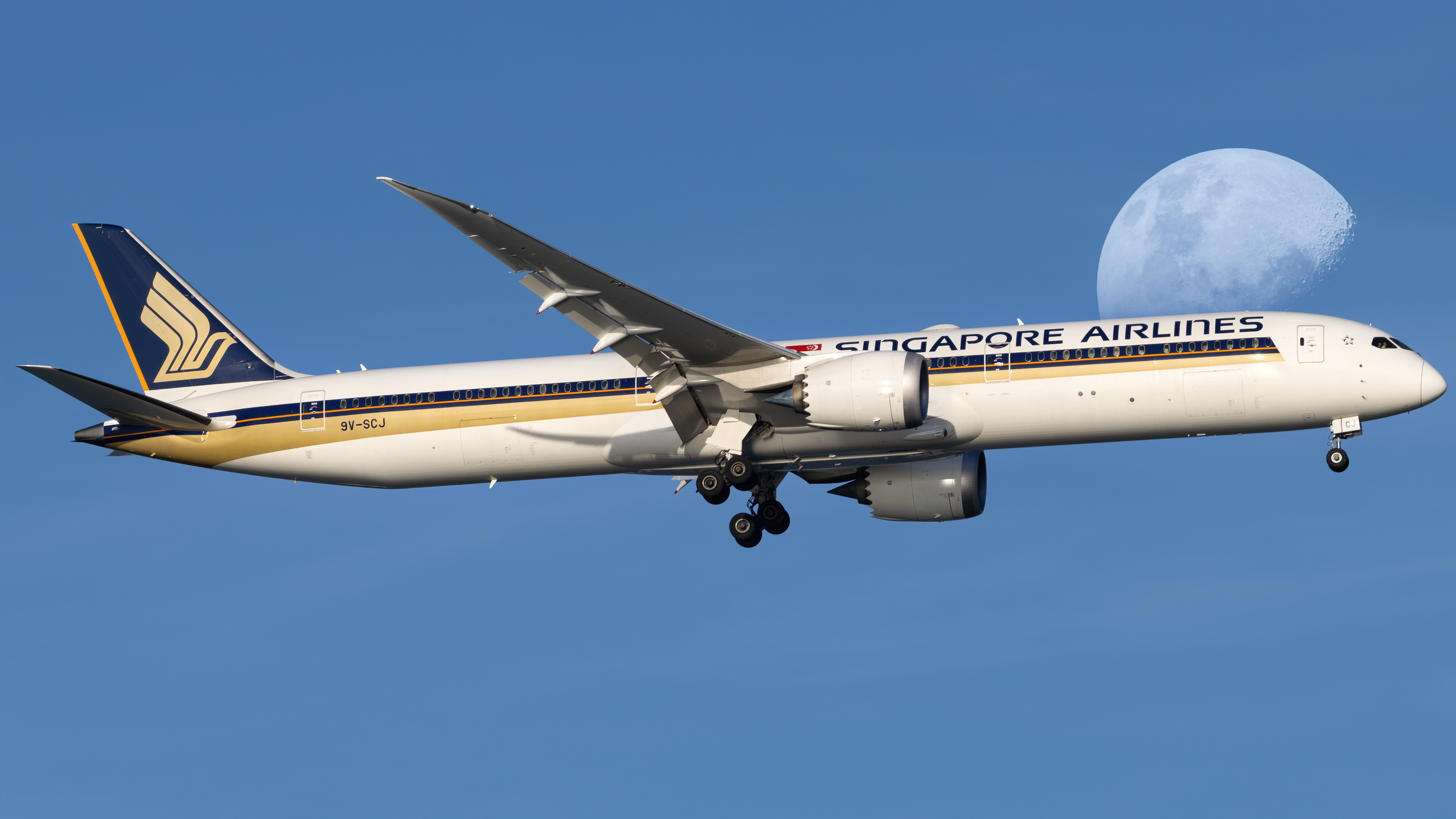 Photo of 9V-SCJ - Singapore Airlines Boeing 787-10 at SIN