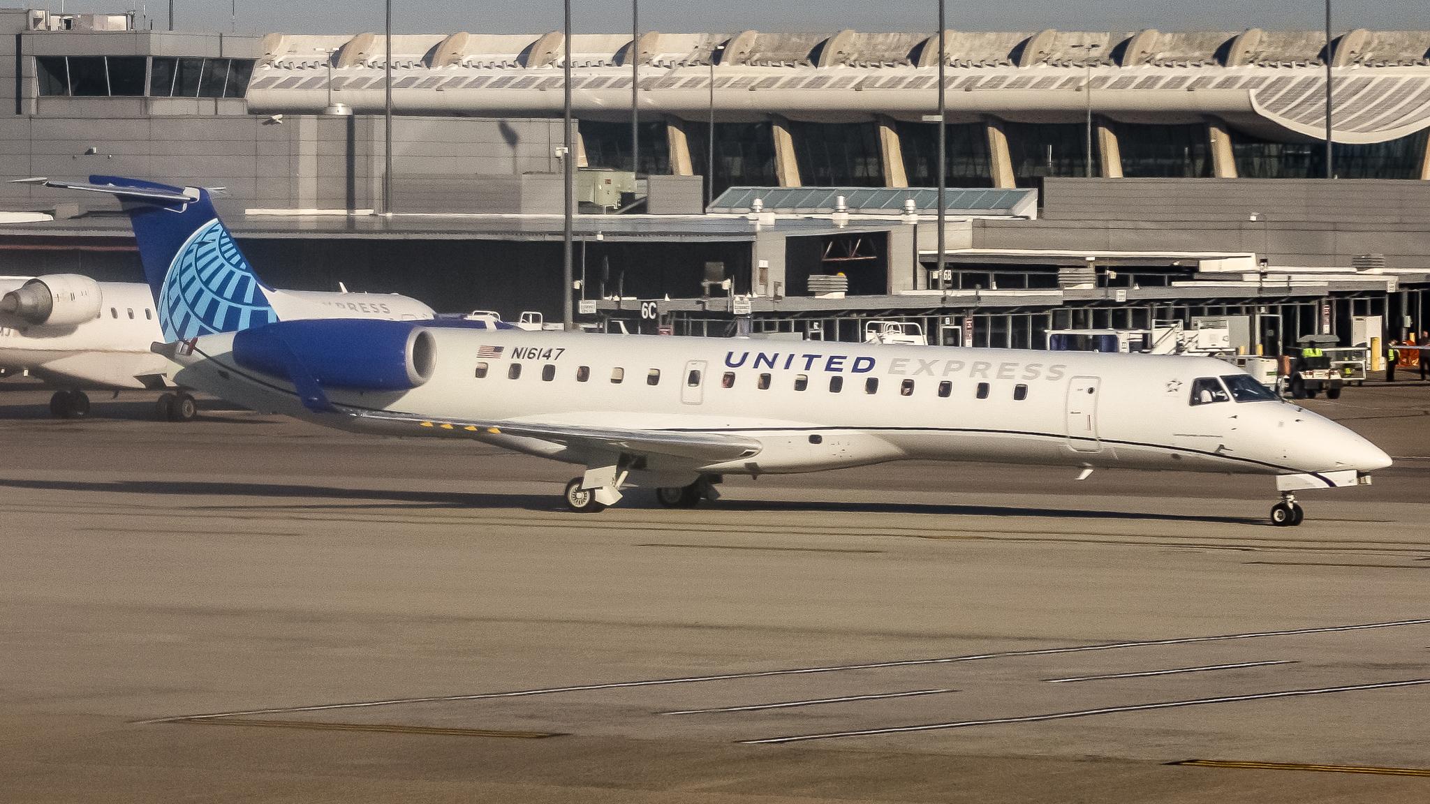 Photo of N16147 - United Express Embraer E145 at IAD