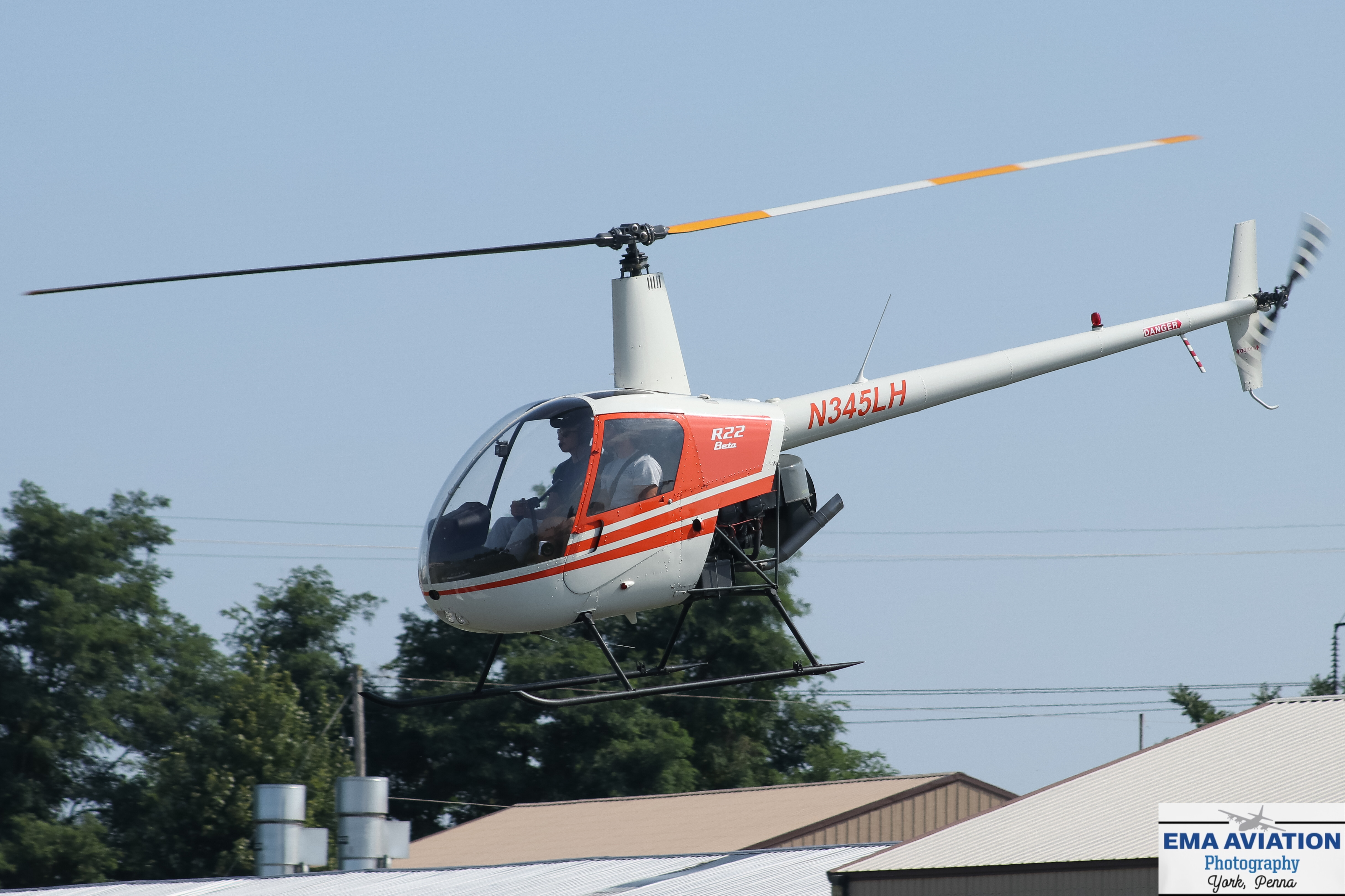 Photo of N345LH - PRIVATE Robinson R-22 at S37