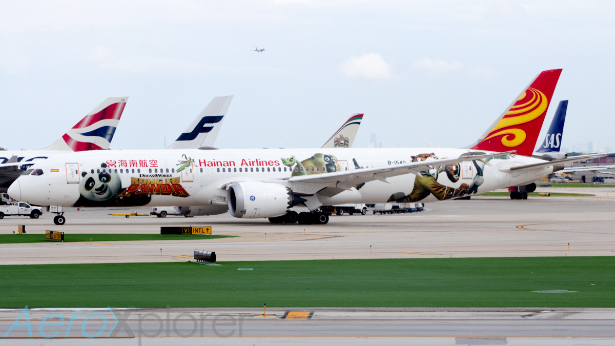 Photo of B-1540 - Hainan Airlines Boeing 787-9 at ORD