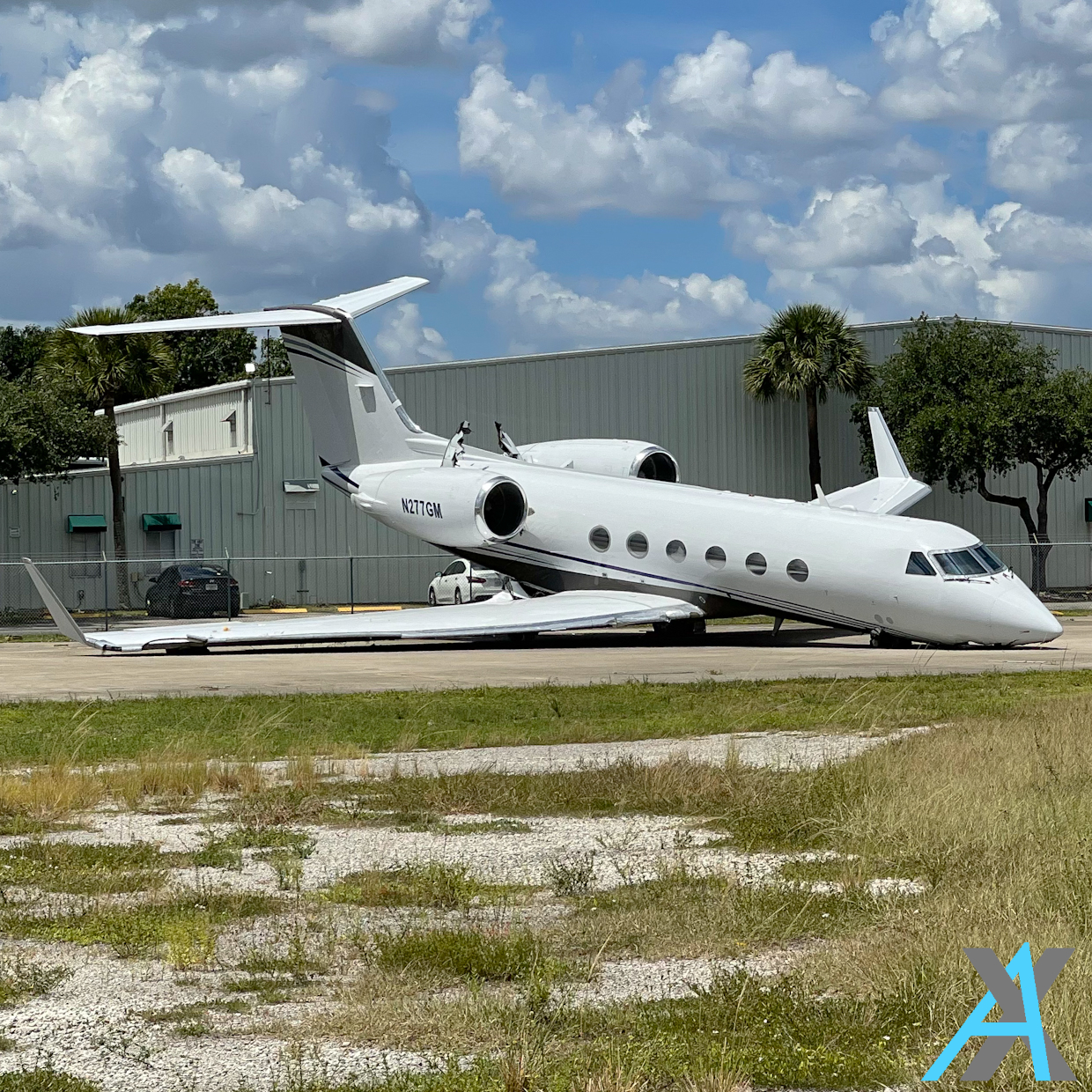 Photo of N277GM - PRIVATE Gulfstream IV at FXE