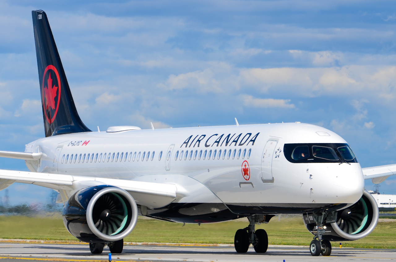 Photo of C-GJYC - Air Canada Airbus A220-300 at YYZ