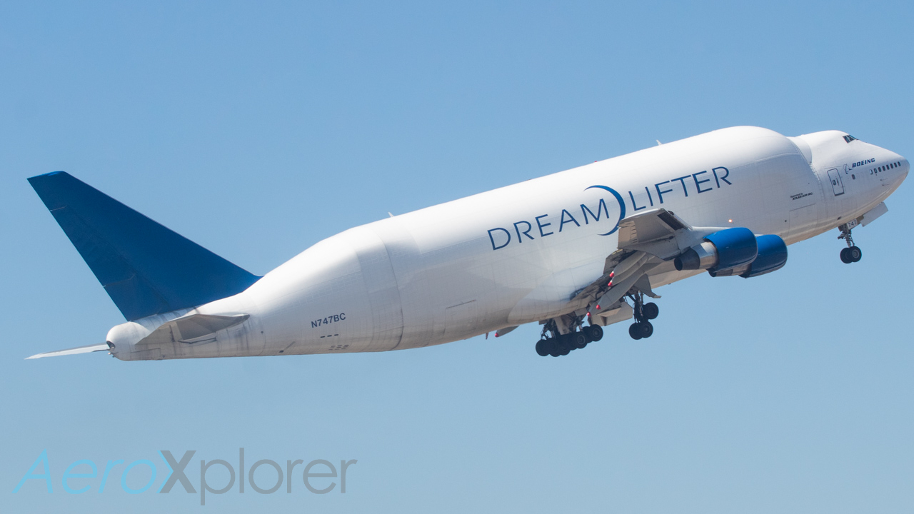 Photo of N747BC - Boeing Boeing Dreamlifter at CHS