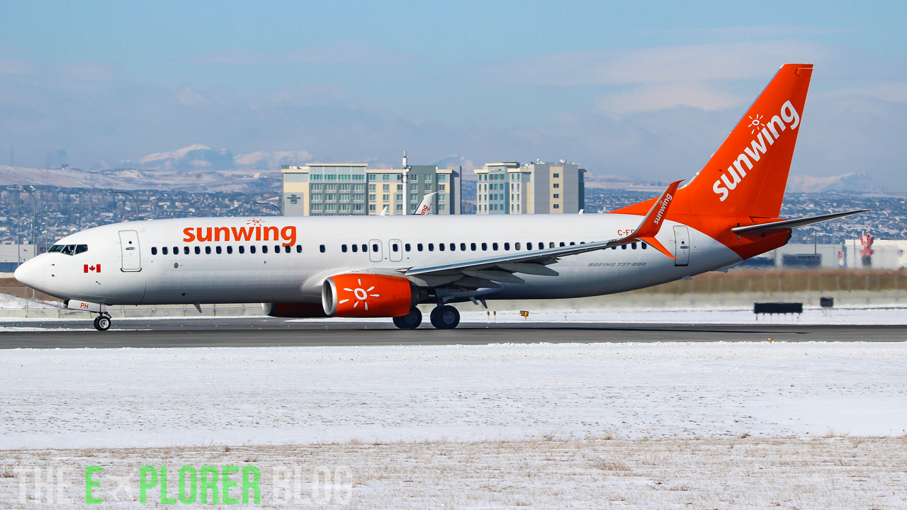 Photo of C-FFPH - Sunwing Airlines Boeing 737-800 at YYC