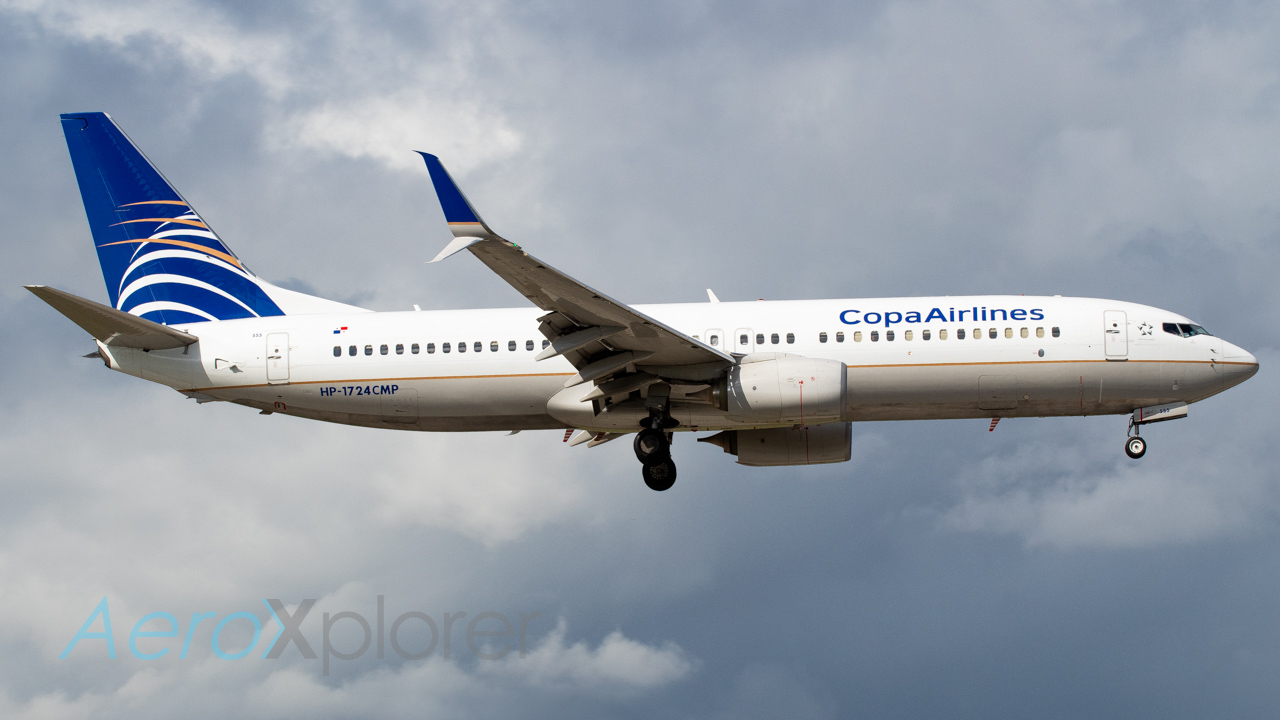 Photo of HP-1724CMP - Copa Airlines Boeing 737-800 at MIA