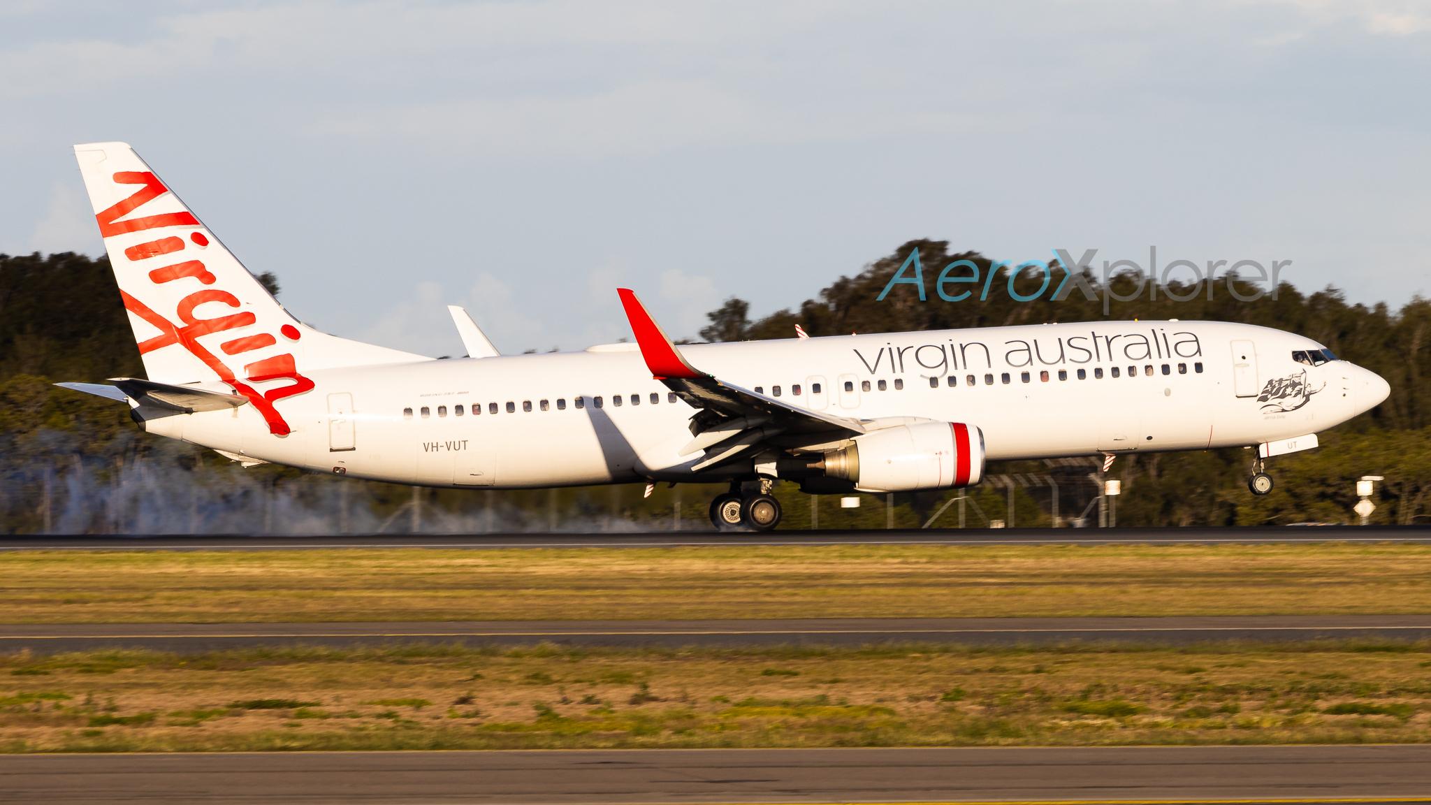 Photo of VH-VUT - Virgin Australia Boeing 737-800 at BNE