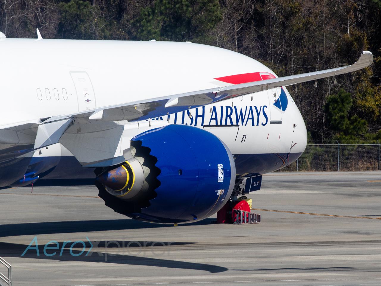Photo of G-ZBLC - British Airways Boeing 787-10 at CHS
