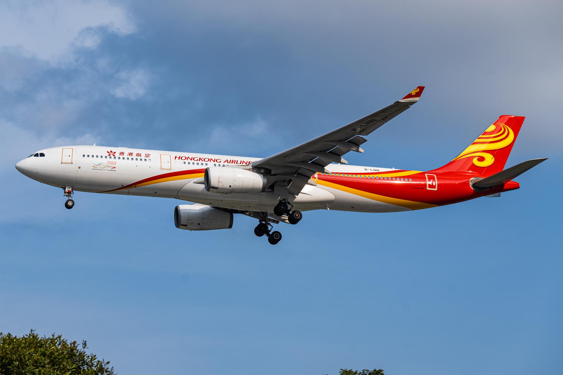 Photo of B-LNN - Hong Kong Airlines Airbus A330-300 at SIN