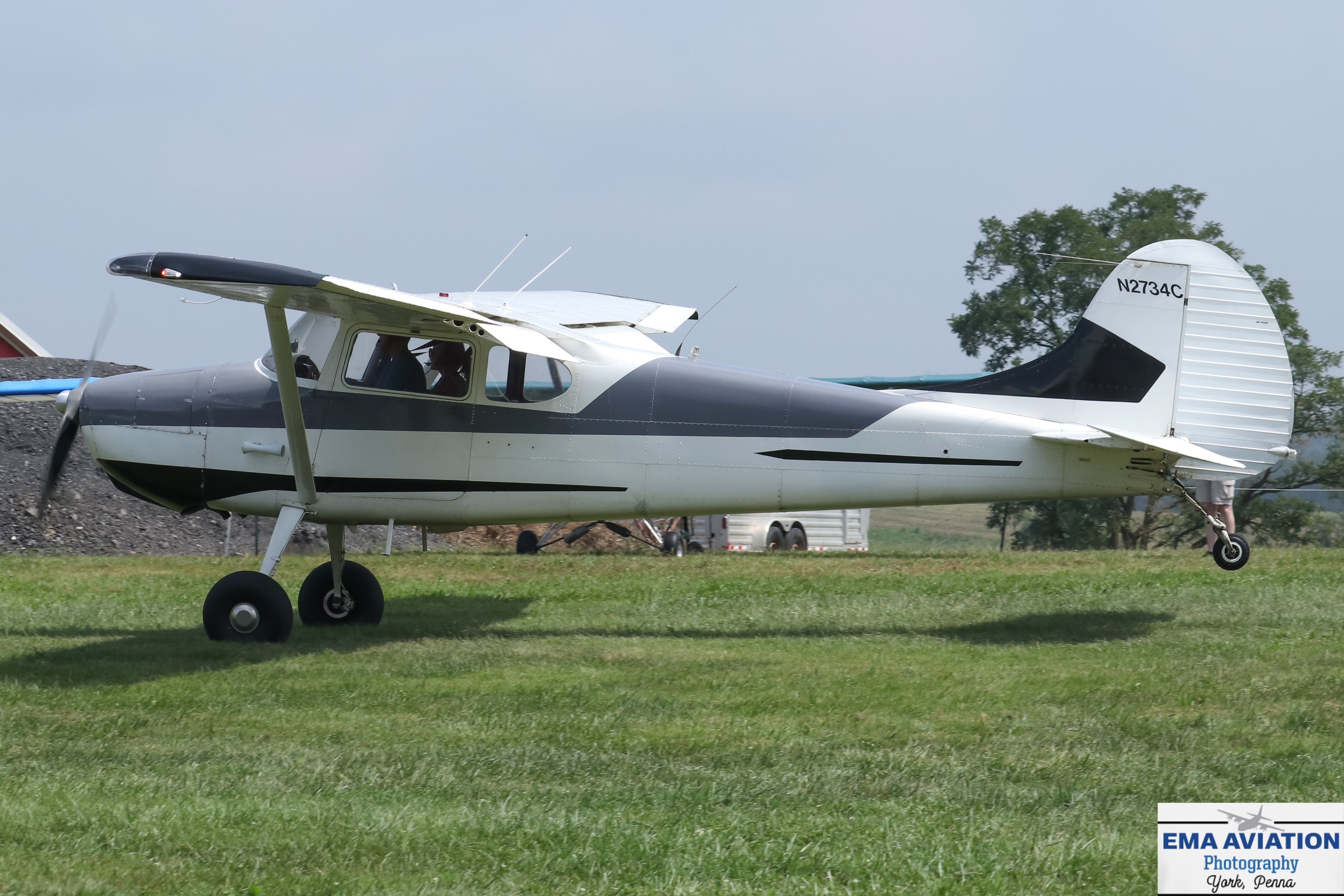 Photo of N2734C - PRIVATE Cessna 170 at FDK