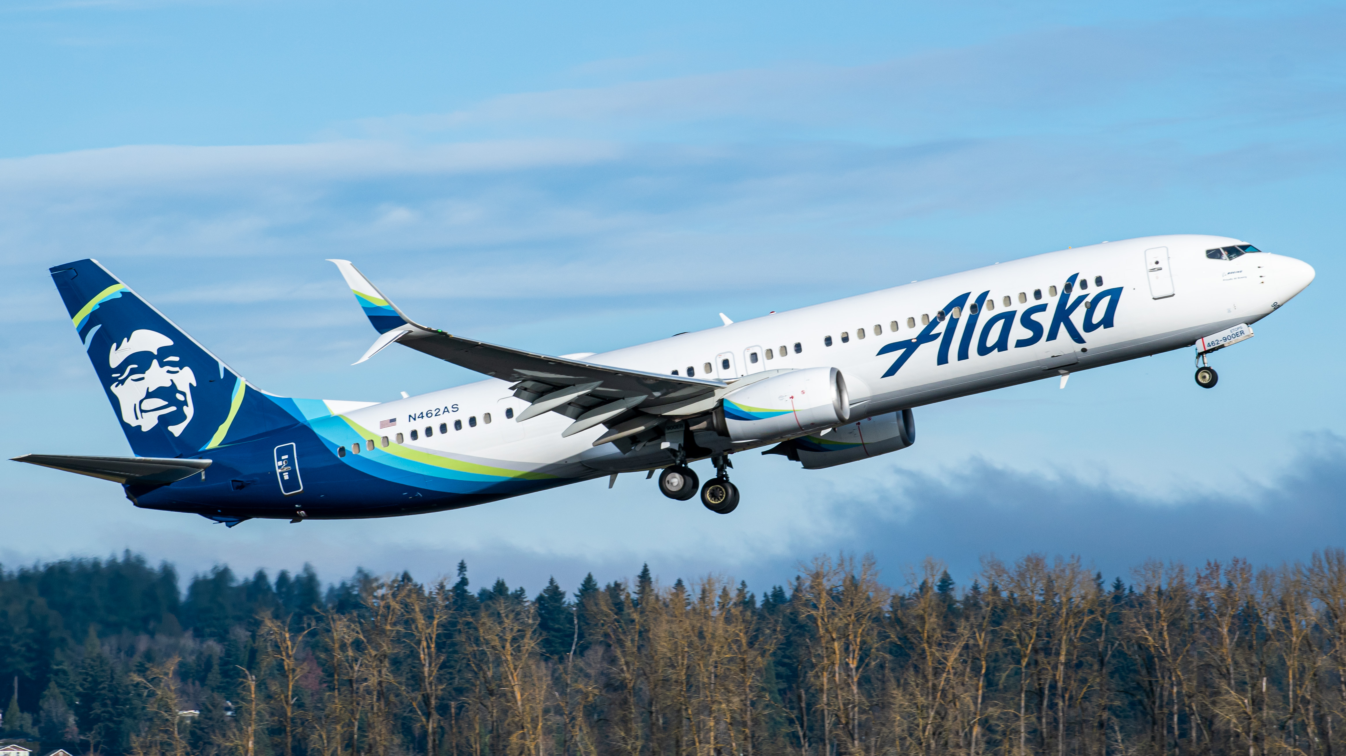 Photo of N462AS - Alaska Airlines Boeing 737-900ER at PDX