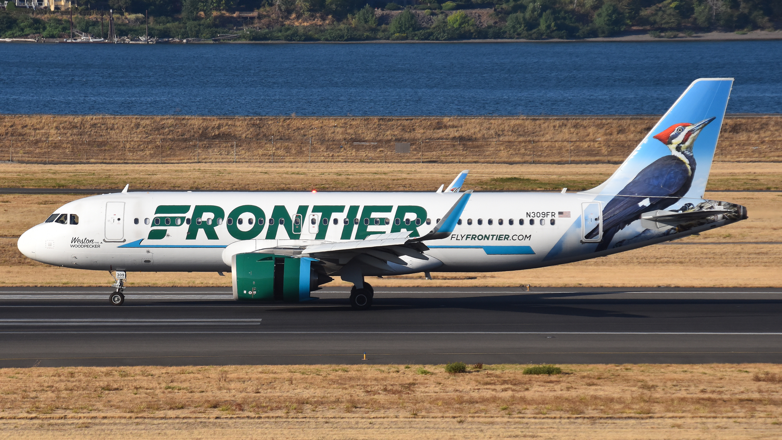 Photo of N309FR - Frontier Airlines Airbus A320NEO at PDX