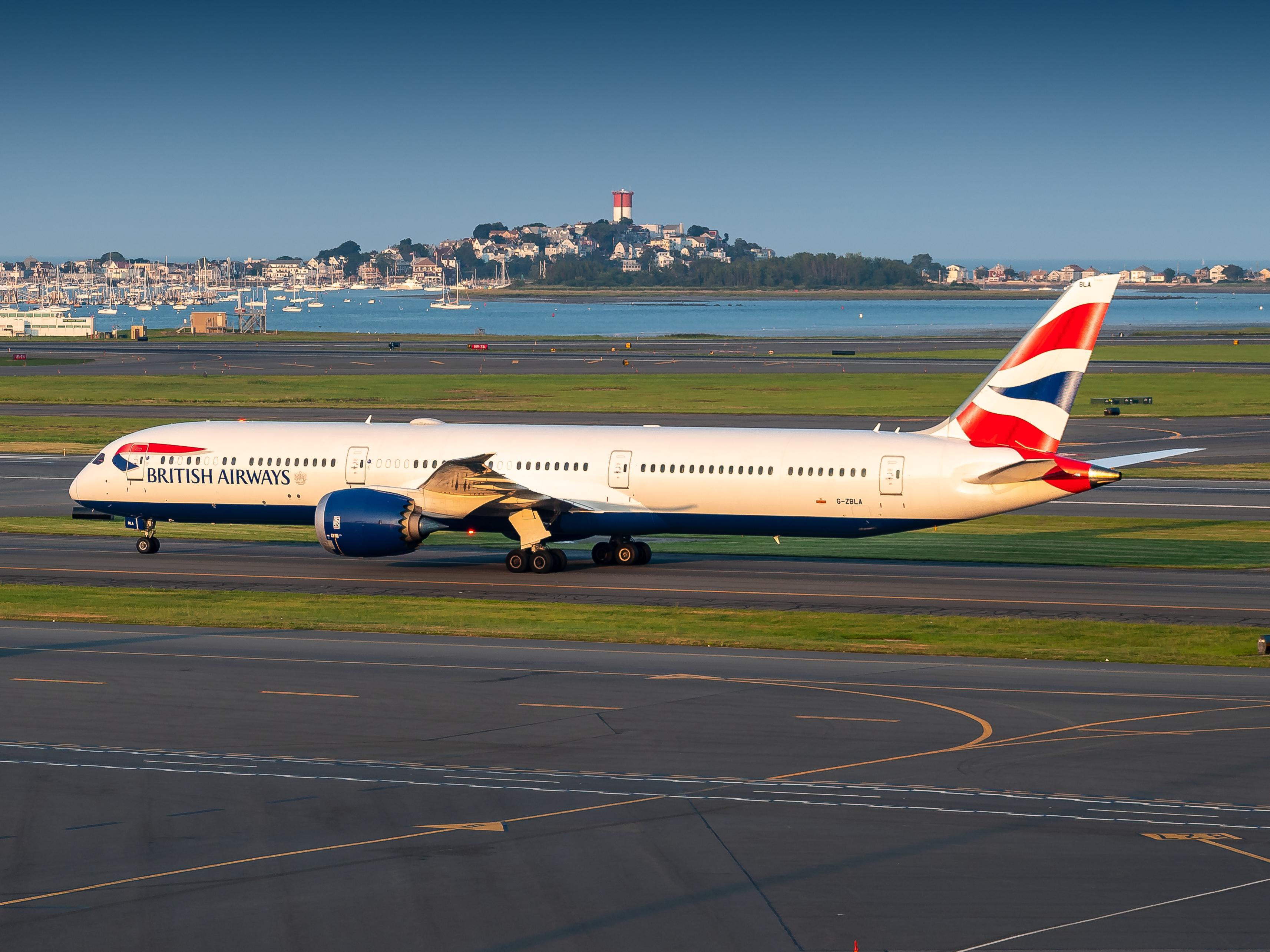 Photo of G-ZBLA - British Airways Boeing 787-10 at BOS