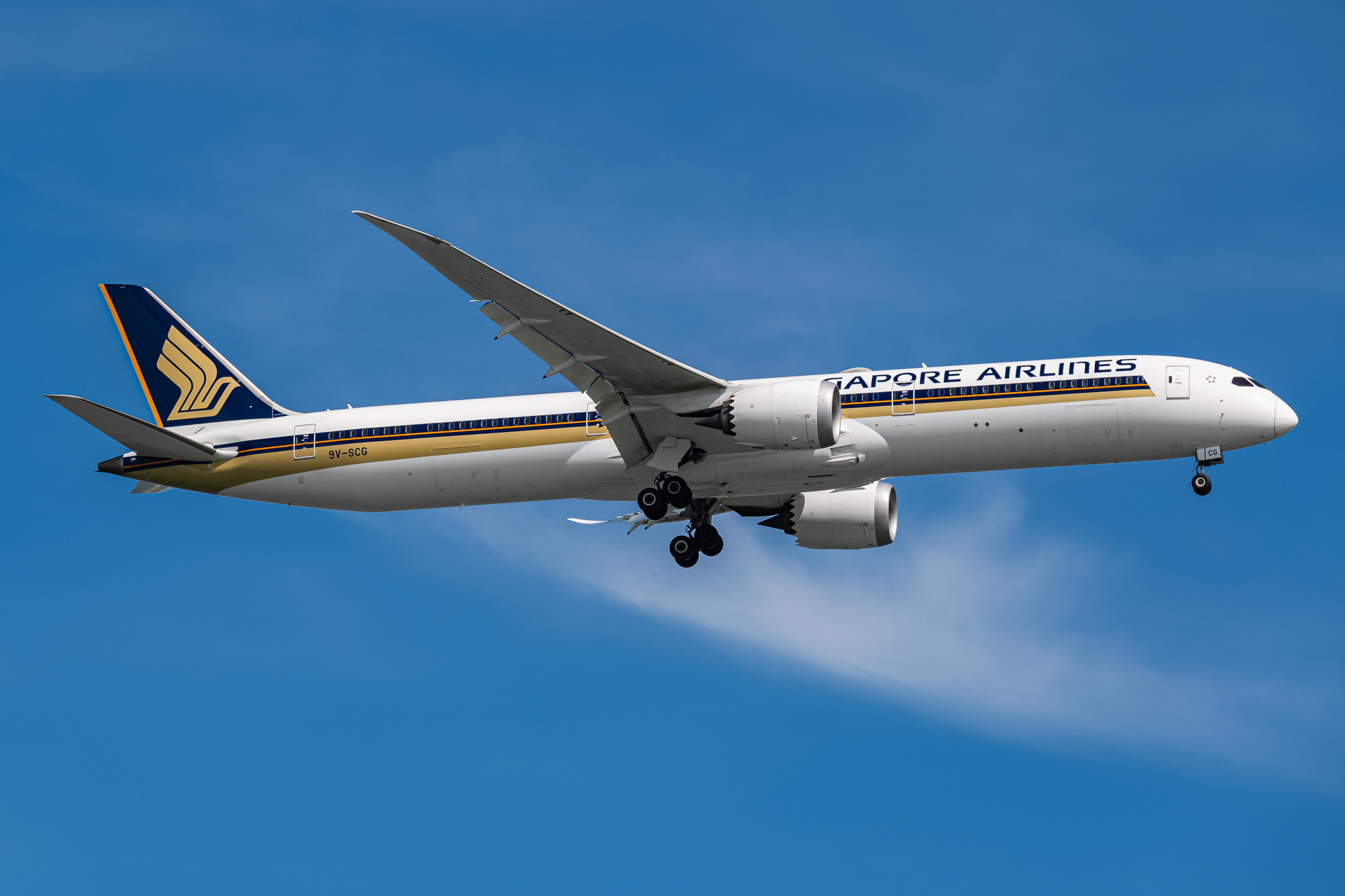 Photo of 9V-SCG - Singapore Airlines Boeing 787-10 at SIN