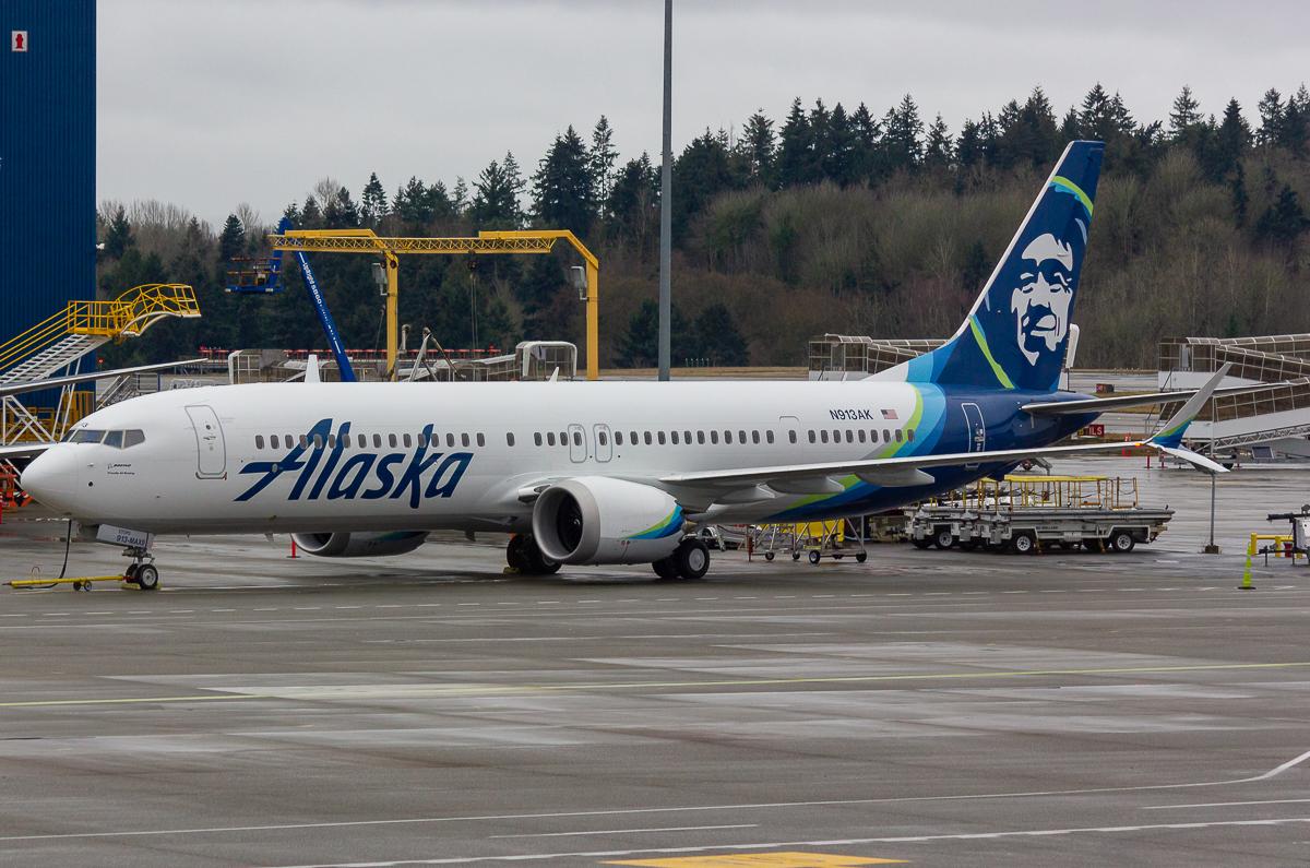 Photo of N913AK - Alaska Airlines Boeing 737 MAX 9 at SEA