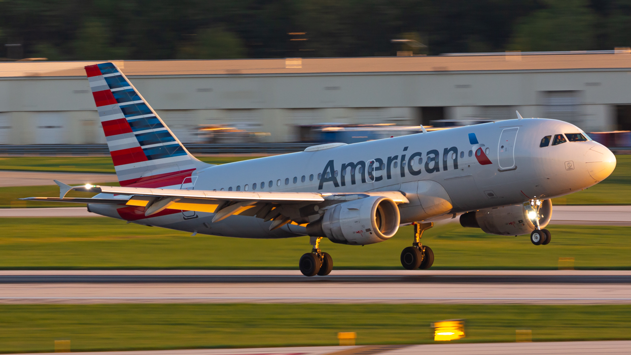 Photo of N711UW - American Airlines Airbus A319 at CMH