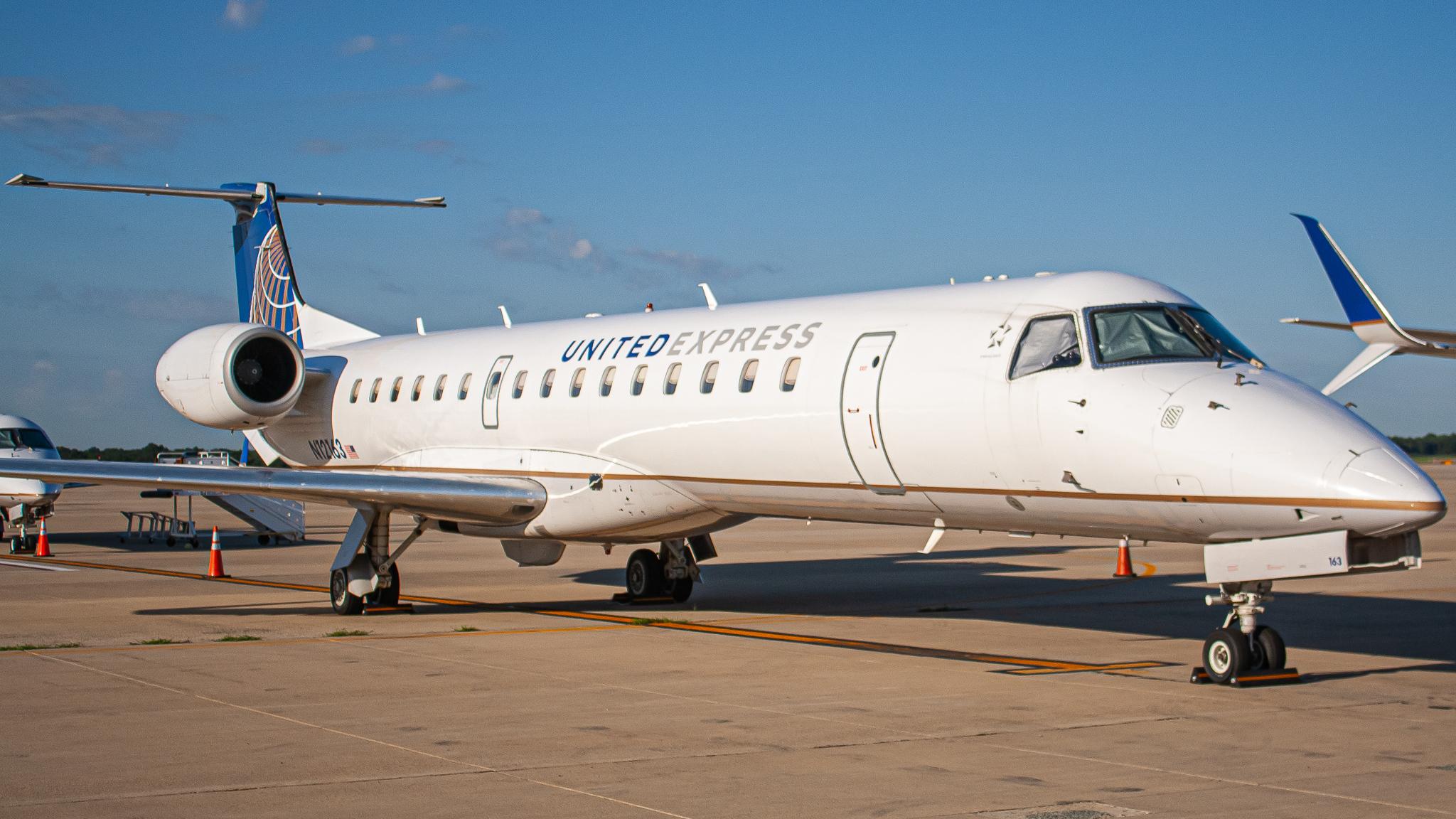 Photo of N12163 - United Express Embraer ERJ145 at IAD