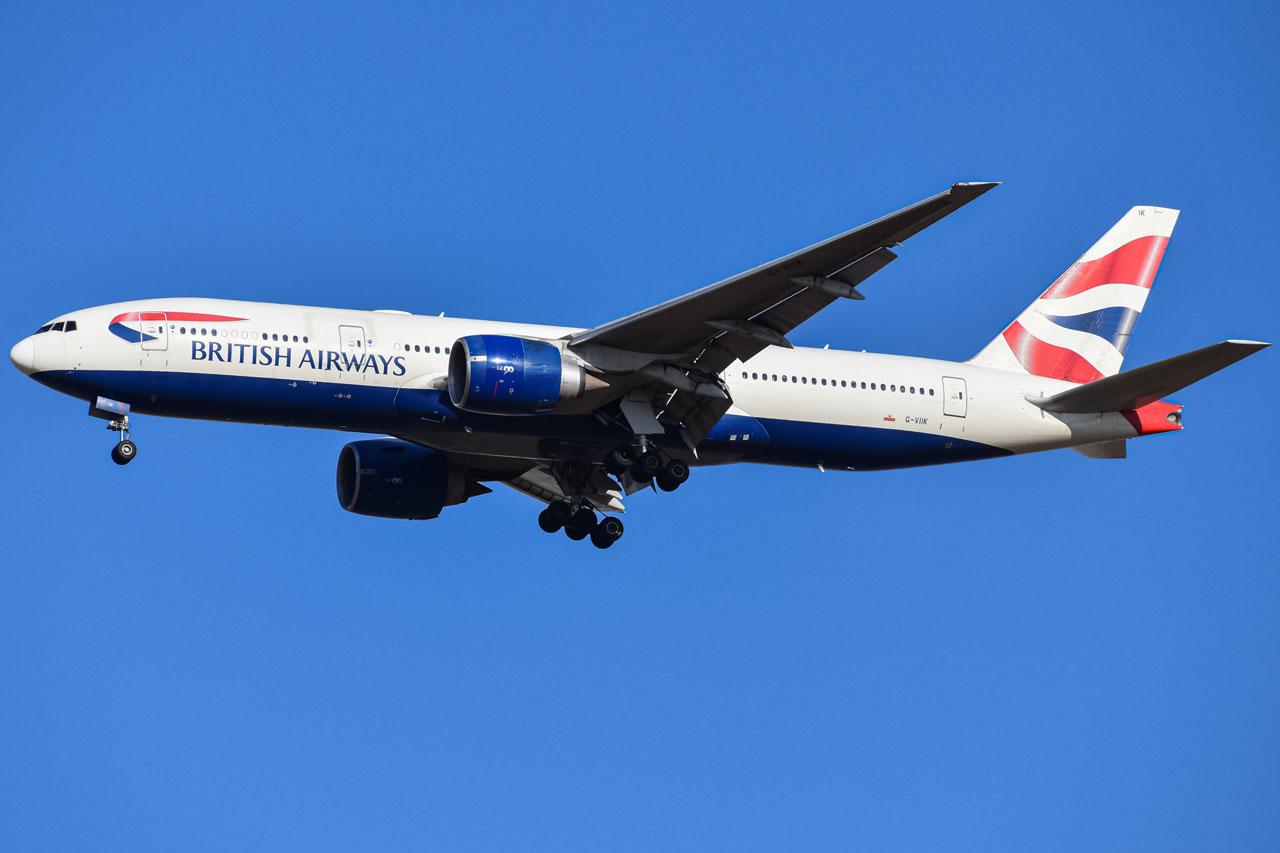 Photo of G-VIIK - British Airways Boeing 777-200ER at DEN