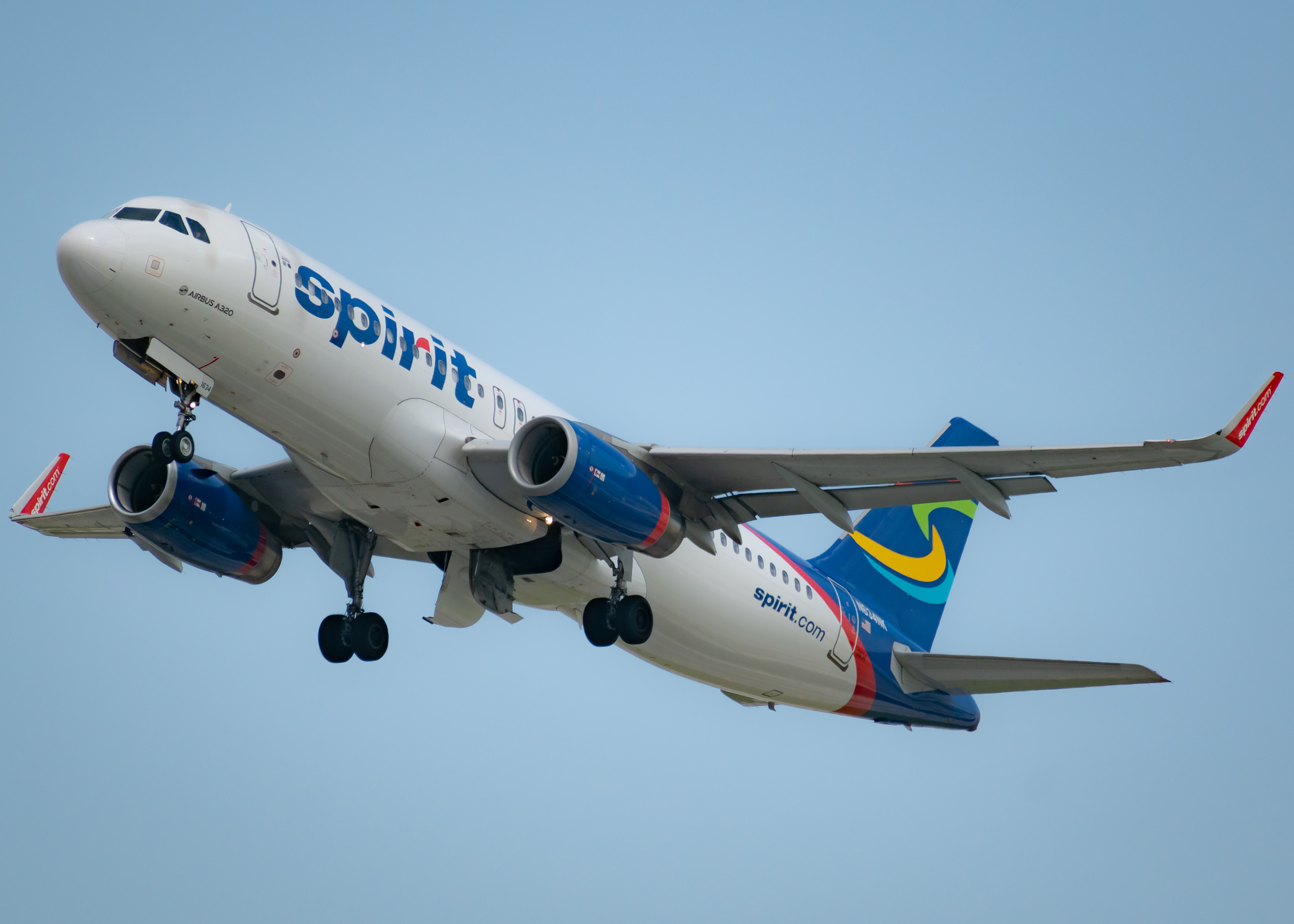 Photo of N634NK - Spirit Airlines Airbus A320 at FLL