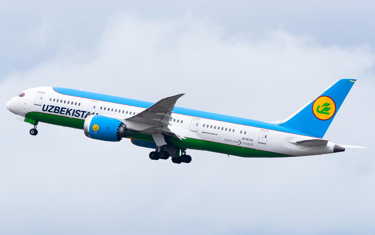 Photo of UK78702 - Uzbekistan Airways Boeing 787-8 at ICN